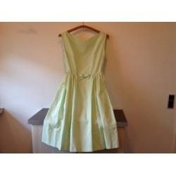 Fin ældre lyse grøn kjole