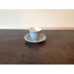 Mocca/Espresso kop med underkop fra Rørstrand