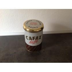 Cafax kaffedåse