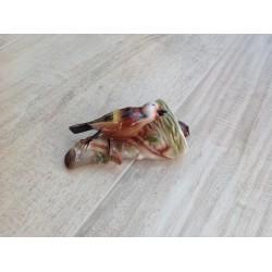 Porcelænsfugl til væggen