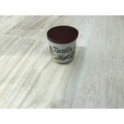 "Knabstrup krydderikrukke ""Vanille"" fra Pernille serien"