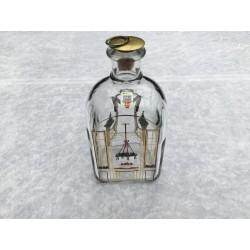 Juleflaske/snapsflaske 1986 fra Holmegaard