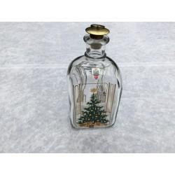 Juleflaske/snapsflaske 1985 fra Holmegaard