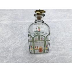 Juleflaske/snapsflaske 1987 fra Holmegaard