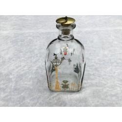 Juleflaske/snapsflaske 1988 fra Holmegaard