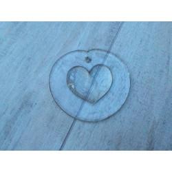 Solfanger i klar glas med hjerte i midten