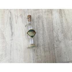 Lille ældre glas flaske med korkprop - Rena  pebermynte Essens