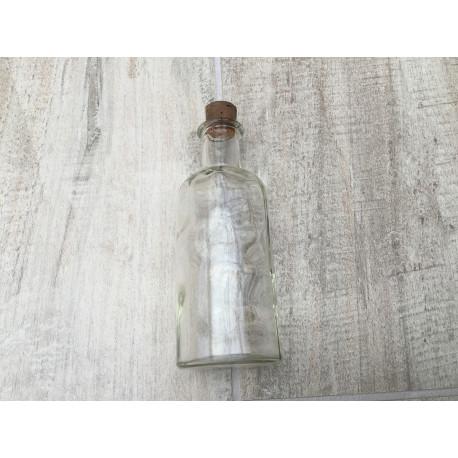 Lille glas flaske med korkprop