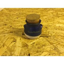 "Keramik krukke Aksini ""Guldkorn"" med korkprop"