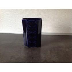 Blå vase fra AWF Norge